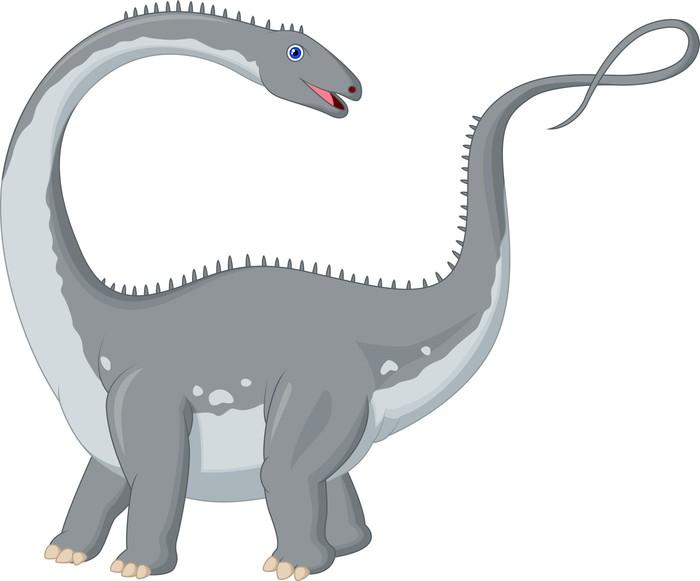 Vinylová Tapeta Dinosaur Cartoon - Nálepka na stěny
