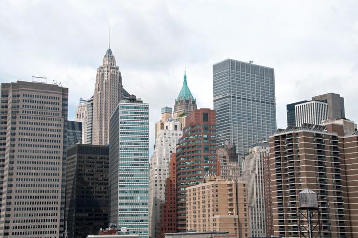 Vinylová Tapeta Manhattan skyline - Témata