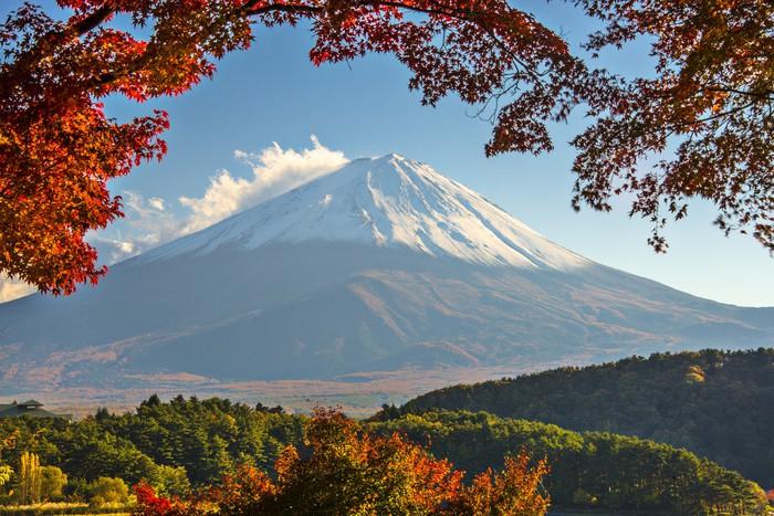 Vinylová Tapeta Mt. Fuji na podzim - Témata