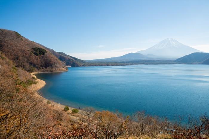 Vinylová Tapeta Horské Fuji Lake Motosu Japonsko - Asie