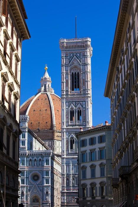 Vinylová Tapeta Katedrála ve Florencii - Evropa