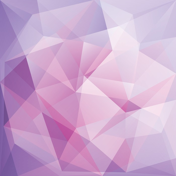 Abstract triangle background vector wall mural pixers for Mural vector