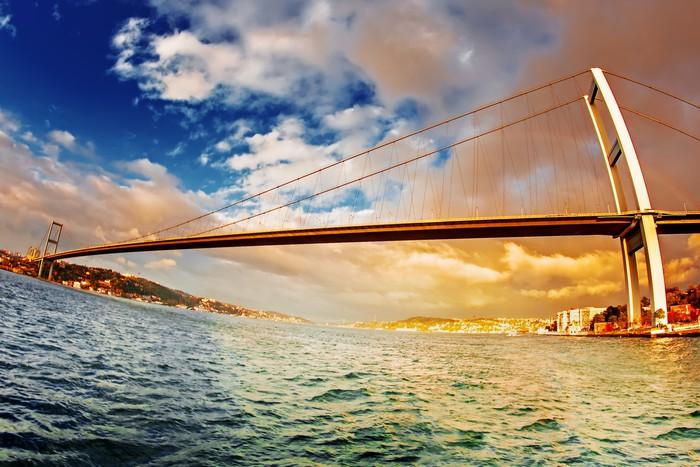 Vinylová Tapeta Most přes Bospor - Evropa