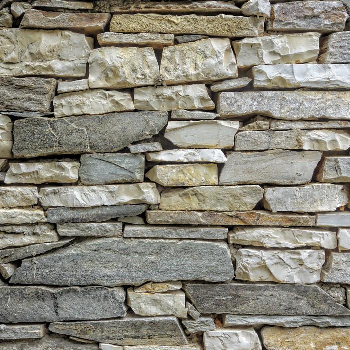 tableau sur toile marbre et mur de pierre gros plan pixers nous vivons pour changer. Black Bedroom Furniture Sets. Home Design Ideas