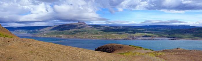 Vinylová Tapeta Horská krajina na Islandu - Ostrovy
