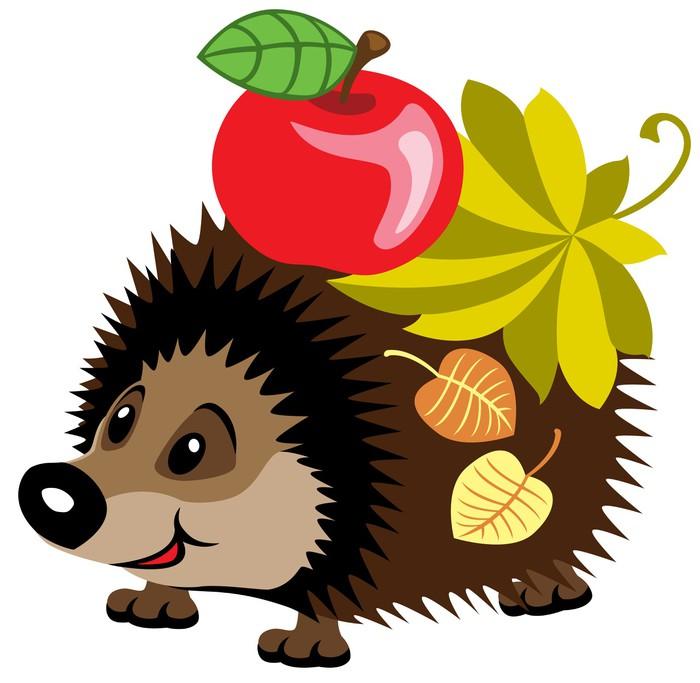 Výsledek obrázku pro ježek kreslený