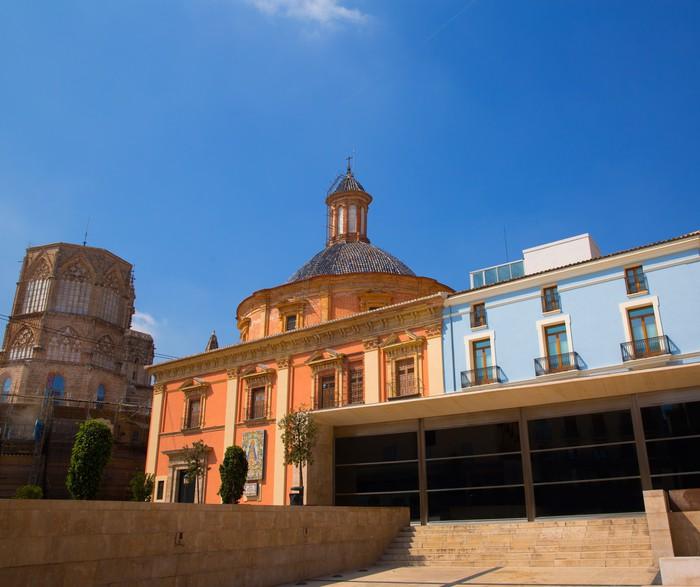 Vinylová Tapeta Valencia v centru města, katedrála a bazilika Španělsko - Evropa