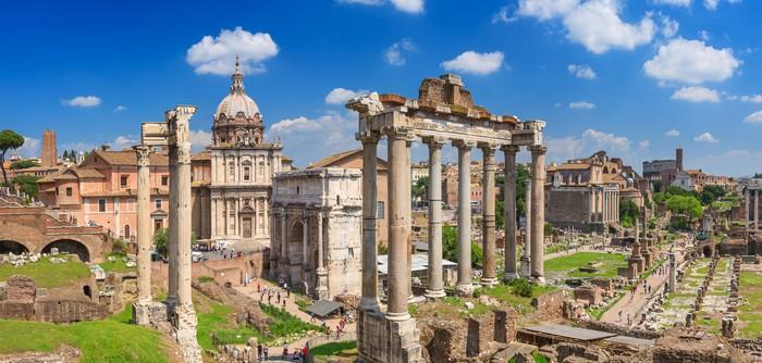 Naklejka forum romanum w rzymie pixers yjemy by zmienia for Castorama roma