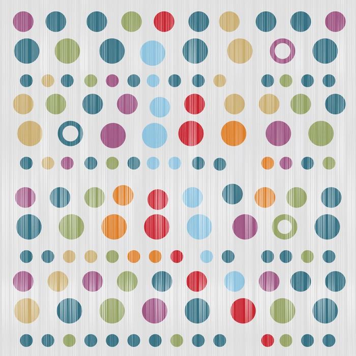 Vinylová Tapeta Abstract Retro Textilní pozadí - Prvky podnikání
