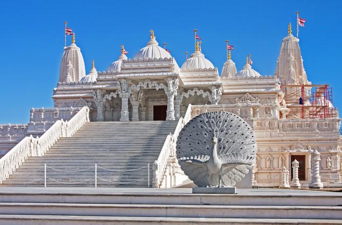 Vinylová Tapeta Hind Mandir chrám z mramoru - Veřejné budovy