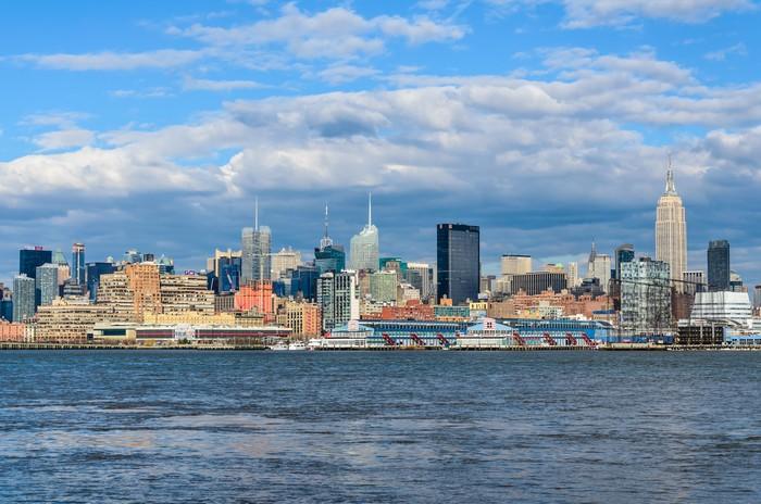 Vinylová Tapeta New york skyline - Americká města