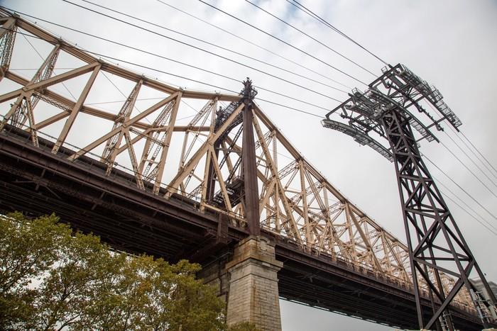 Sticker Pixerstick New York Queensboro Bridge - Villes américaines