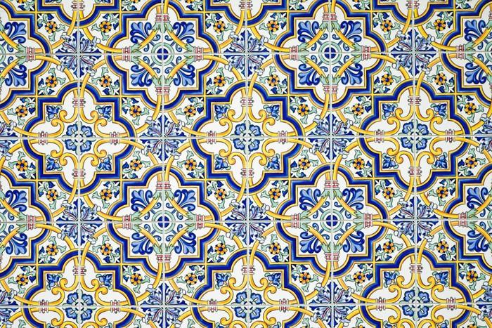 Vinilo pixerstick t pica pared de azulejos andaluz for Azulejos europa 9 telefono