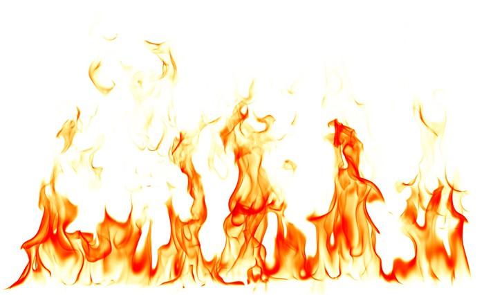 fotomural llamas de fuego sobre fondo blanco  u2022 pixers fire flames clipart fire flames clipart black and white