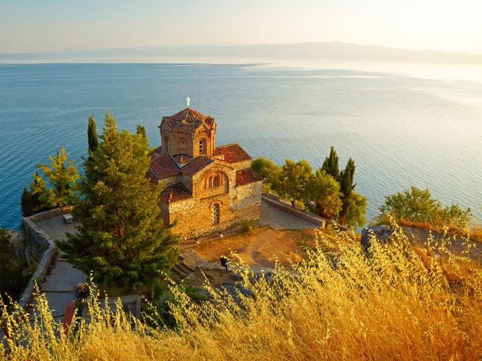 Vinylová Tapeta Kostel svatého Jana na Kaneo. Ohrid, Makedonie - Evropa