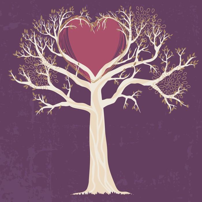 sticker arbre blanc � pixers174 nous vivons pour changer
