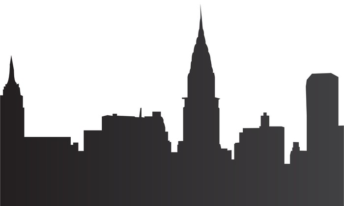 New York Skyline Wall Decal - Wall decals  sc 1 st  Pixers & New York Skyline Wall Decal