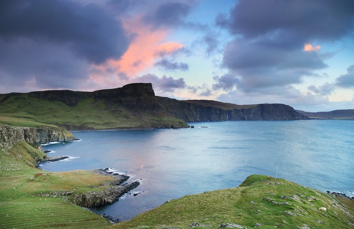 Vinylová Tapeta Pohled na Neist Point, Skotské vysočiny, v Evropě - Evropa