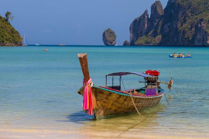 Vinylová fototapeta Krásné zátoky ostrova Phi Phi, Thajsko - Vinylová fototapeta