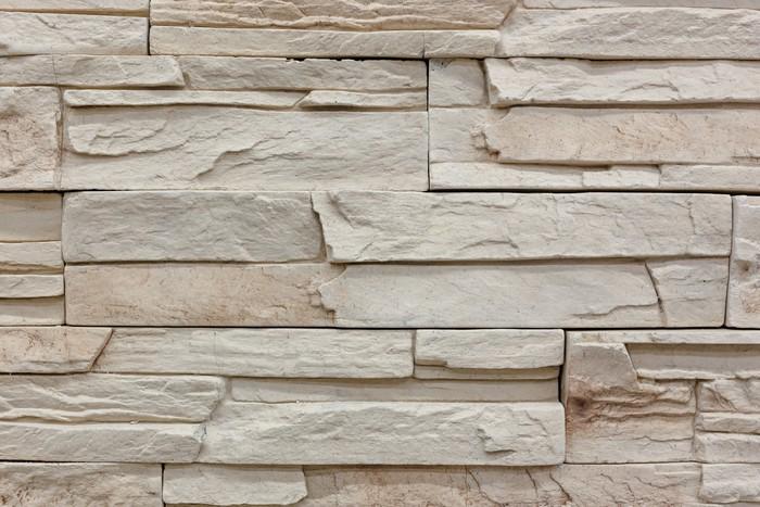 Fototapete Steinwand-Muster • Pixers® - Wir leben, um zu verändern