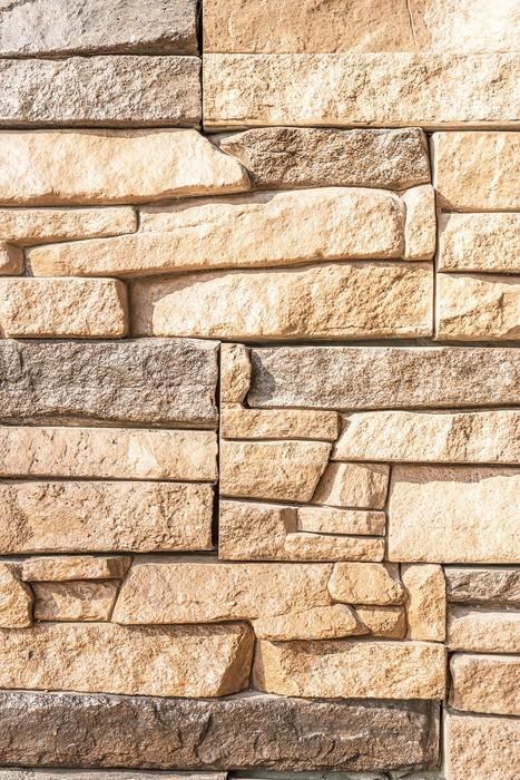 Fotomural muro de piedra decorativa pixers vivimos - Piedra decorativa exterior ...