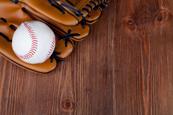Vinylová Tapeta Baseballová rukavice - Sportovní potřeby