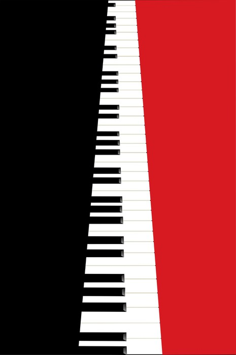 Piano concert poster wall mural pixers we live to change for Concert wall mural