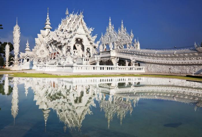 Vinylová Tapeta White chrám - Asie