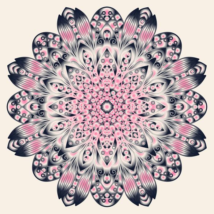 Vinylová Tapeta Abstraktní květinové pozadí - Pozadí