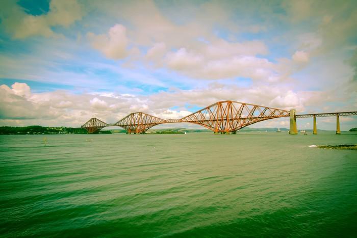 Vinylová Tapeta Forth železniční most poblíž Edinburghu - Témata