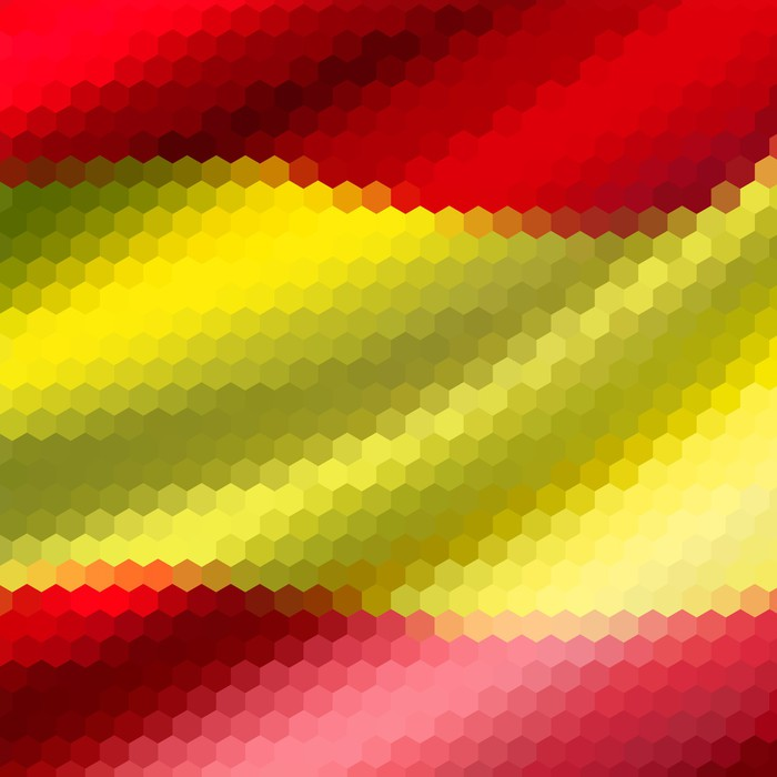 Fototapete Mosaic Hintergrund Fur Ihr Design Spanien Flagge