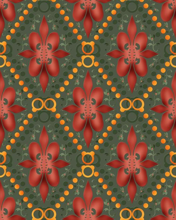 Vinylová Tapeta Bezešvé abstraktní textury na pozadí - Pozadí