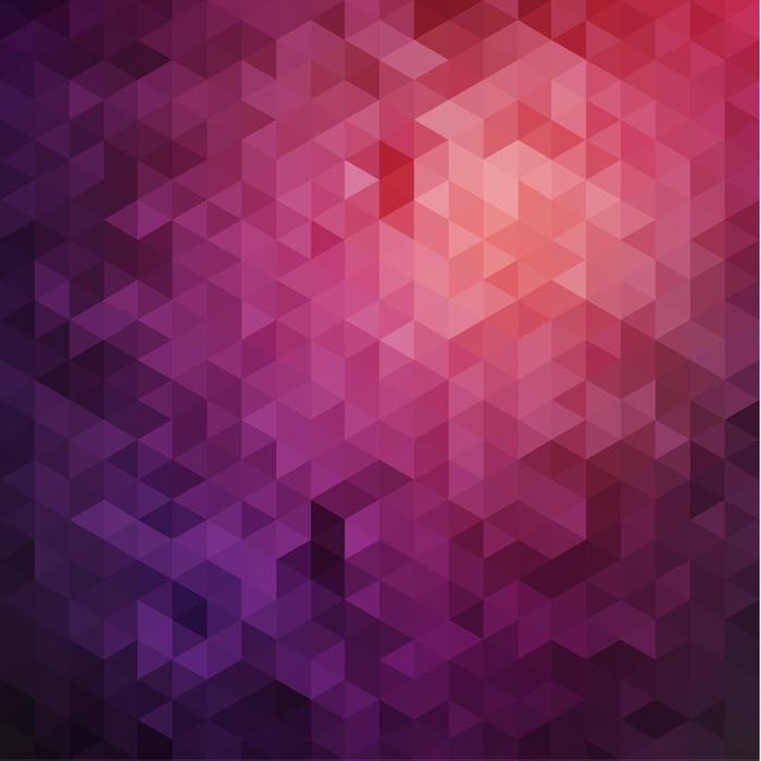 Fotomural tri ngulos p rpuras fondo pixers vivimos para cambiar - Fotomurales pixel ...