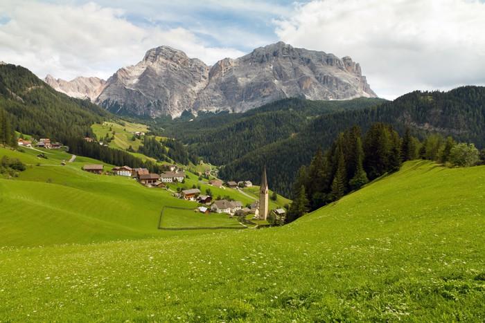 Vinylová Tapeta Kreuzkofel in den Dolomiten - Hory
