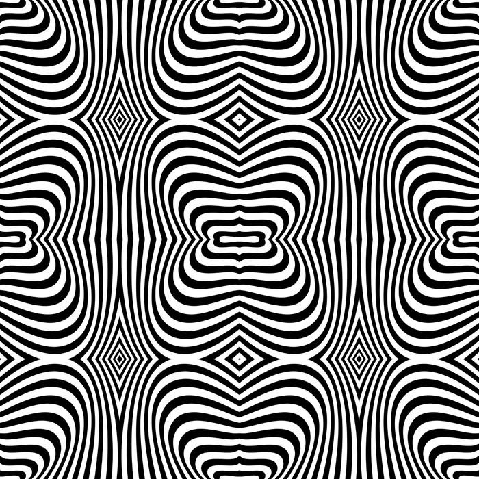 papier peint seamless texture de l 39 art op conception de mod le de z bre pixers nous. Black Bedroom Furniture Sets. Home Design Ideas
