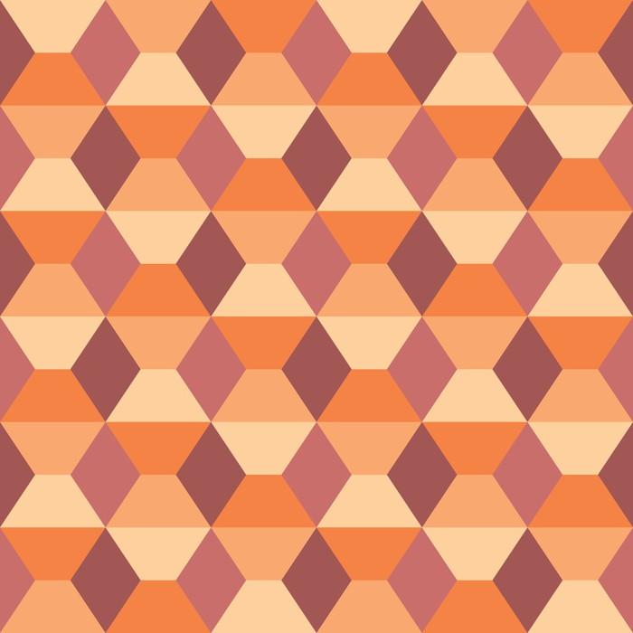 Nálepka Pixerstick Bezešvé geometrický vzor. - Abstraktní