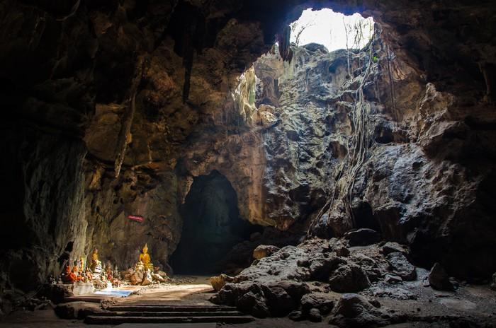 Vinylová Tapeta Tham Khao Luang jeskyně Phetchaburi, Thajsko - Asie