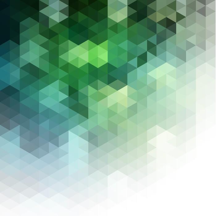 Carta da parati astratto mosaico sfondo naturale pixers for Carta da parati vinile