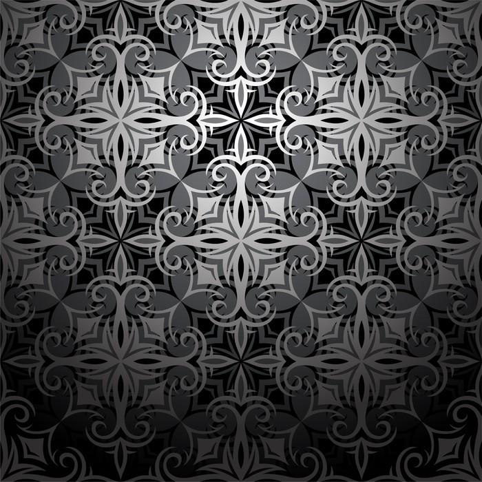 Vinylová Tapeta Bezešvé tapety ornament - Pozadí