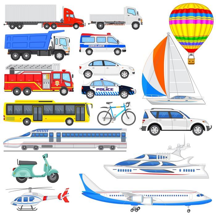 Výsledek obrázku pro obrázky dopravních prostředků