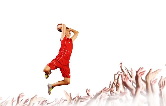 Vinylová Tapeta Basketbalový hráč - Basketbal