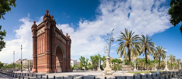 Vinylová Tapeta Arc de Triomf - Barcelona - Evropská města