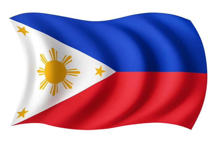 Philippines Flag Filipino Flag Wall Mural Pixers 174 We