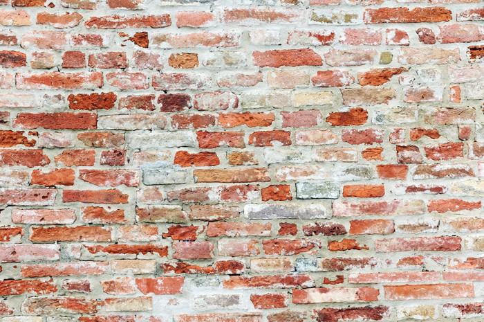 carta da parati vecchio muro di mattoni pixers