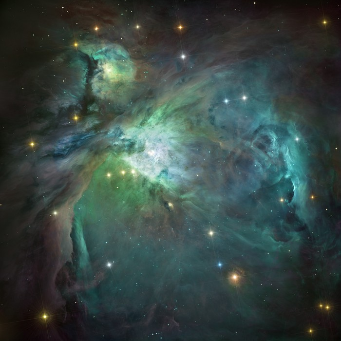 orion nebula in deep space element of image furnished by nasa wall mural pixers we live. Black Bedroom Furniture Sets. Home Design Ideas