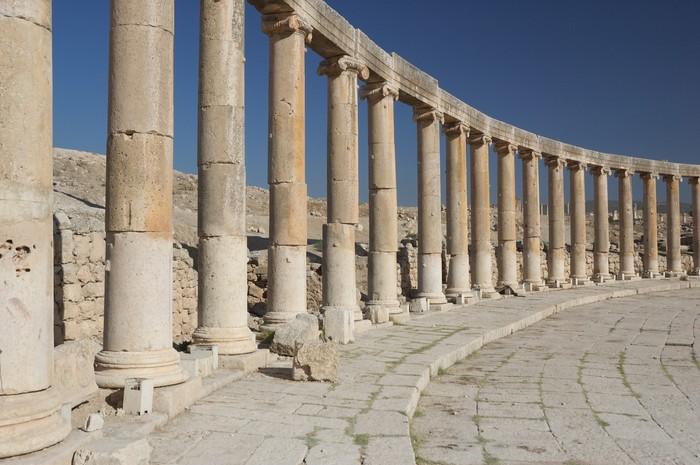 Jerash - column