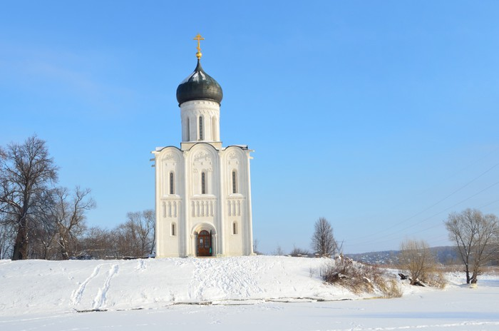 Vinylová Tapeta Церковь Покрова на Нерли, Боголюбово, Владимир - Evropa