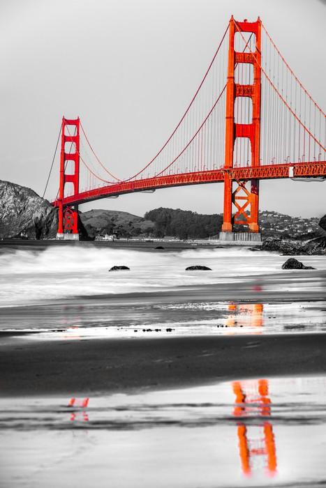 Golden Gate San Francisco California Usa Wall Mural