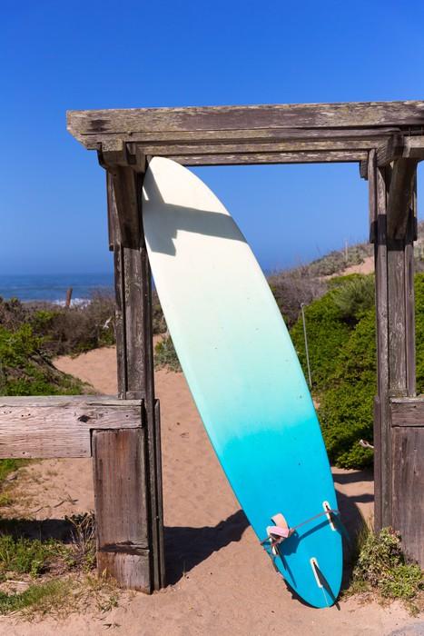 Vinylová Tapeta Kalifornie surfovací prkno na pláži v Cabrillo dálnice Route 1 - Amerika