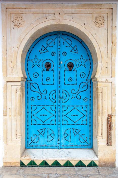Poster porte orientale pixers nous vivons pour changer for Porte orientale